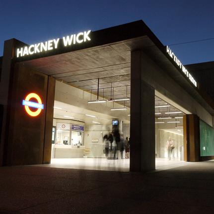 2019 WAN Awards: Hackney Wick Train Station - Landolt + Brown