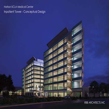 2019 WAN Awards: Harbor UCLA Medical Center Inpatient Tower - RBB Architects Inc.