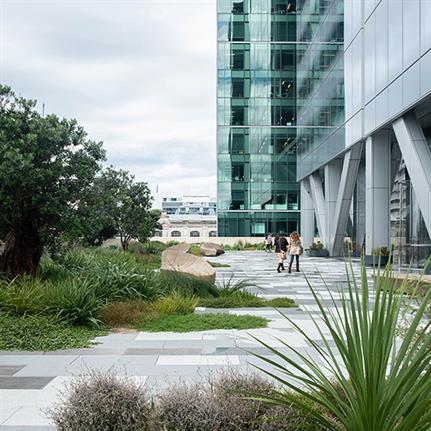 2021 WAN Awards entry: Commercial Bay Sky Terrace + Laneways - LandLAB