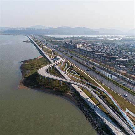 2021 WAN Awards entry: Zhuhai Jinwan East Airport Road Beautification and Landscaping Upgrading Design - PMA (PolyMorphArchitects)