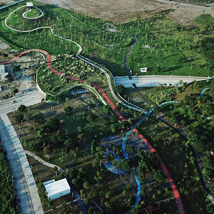 2021 WAN Awards entry: Taichung Central Park - Mosbach Paysagistes