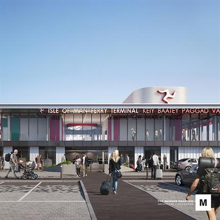 2019 WAN Awards: Isle of Man Ferry Terminal - The Manser Practice