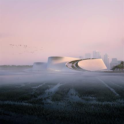 2021 WAN Awards entry: Shenzhen Natural History Museum - 3XN, B+H and Zhubo Design