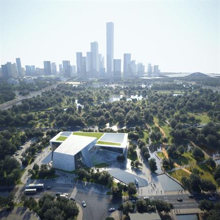 2020 WAN Awards entry: Urban Exhibition Center - Allied Architects International