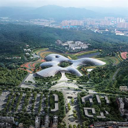 2020 WAN Awards entry: National Botanical Museum - Architectural Design & Research Institute of Tsinghua University Co, I Sutherland Hussey Harris
