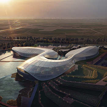 2020 WAN Awards entry: Yangtze River Estuary Chinese Sturgeon Nature Preserve - Ennead Architects