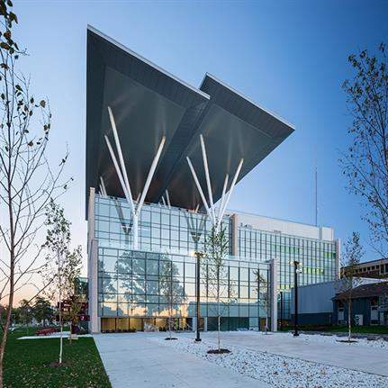 2019 WAN Awards: The Joyce Centre for Partnership & Innovation - B+H Architects