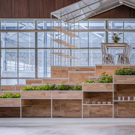 2019 WAN Awards: Jiaxing Qixing Xiyue Rural Complex Exhibition Center - Antao Design