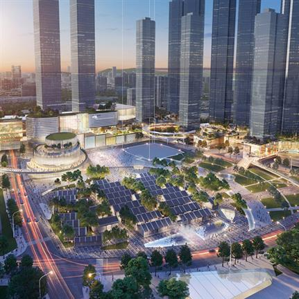 2021 WAN Awards entry: Hubei Coordination Urban Renewal Scheme - Lead8