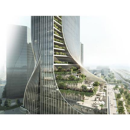 2020 WAN Awards entry: FengSheng 101 Tower - GWP Architects