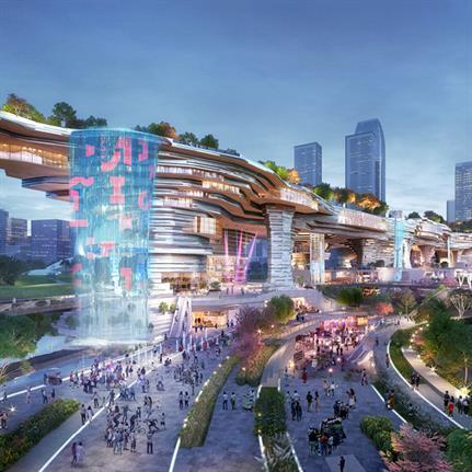 2021 WAN Awards entry: Urban City Cultural Plaza - Lead8