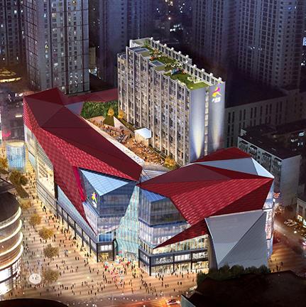 2021 WAN Awards entry: Shenyang Joy City Hub E - Woods Bagot