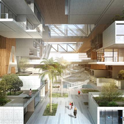 2020 WAN Awards entry: Shenzhen Longgang Vanke Bantian Air Conditioning Factory - Yijing Architectural design Co.,Ltd