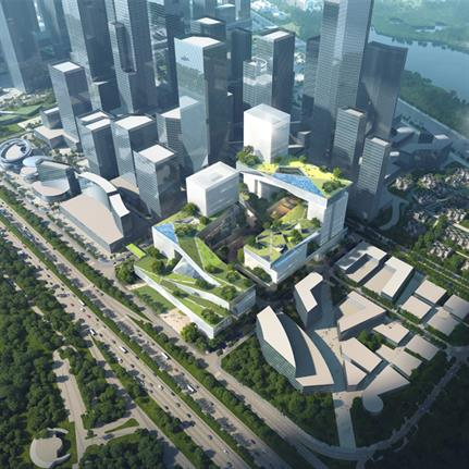 2021 WAN Awards entry: ZTE Headquarters - Shenzhen Cube Architectural Design Consulting Co., Ltd