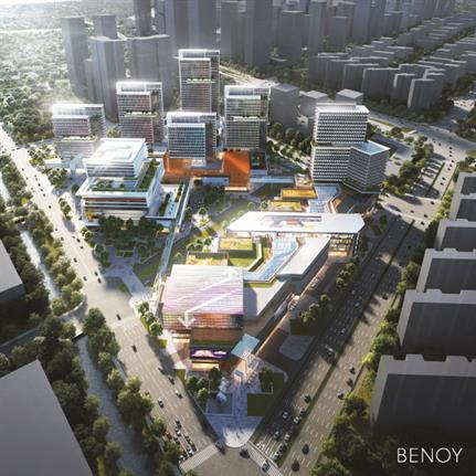 2020 WAN Awards entry: The Alibaba Jiangsu Headquarters - Benoy