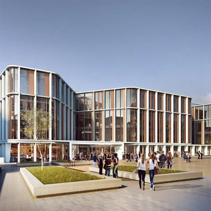 2020 WAN Awards entry: University of Glasgow Research Hub - HOK