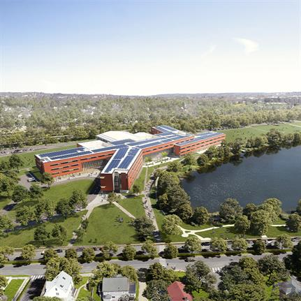 2020 WAN Awards entry: Belmont Middle and High School - Perkins and Will