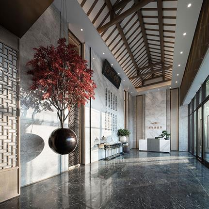 2019 WIN Awards: Tanyue Mansion - G&K Interior Decoration Design Consulting Co., LTD