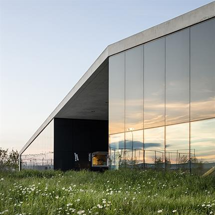 "2019 WAN Awards: ""La Tuilière"" Football Center, 2016-2018, Lausanne, Switzerland - Graeme Mann & Patricia Capua Mann Architectes EPFL FAS SIA"