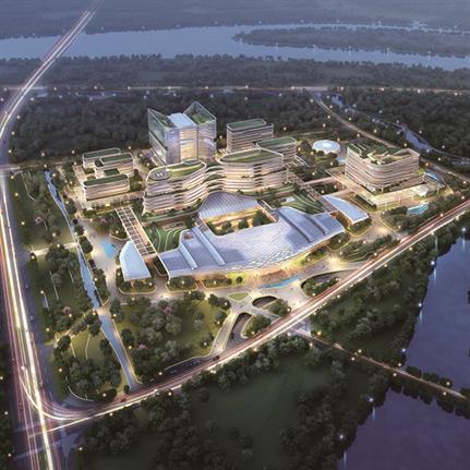 2021 WAN Awards entry: Midea Heyou International Hospital - BAI Design International Limited
