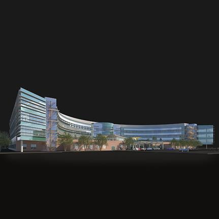 2020 WAN Awards entry: Antelope Valley Replacement Hospital - RBB Architects Inc