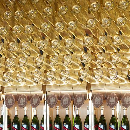 2019 WIN Awards:  Mumm Champagne Bar - Bates Smart