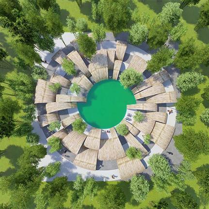 2021 WAN Awards entry: The Garden of Forking Paths in Shunan Bamboo Sea - Yunchao Xu/Atelier Apeiron/SZAD