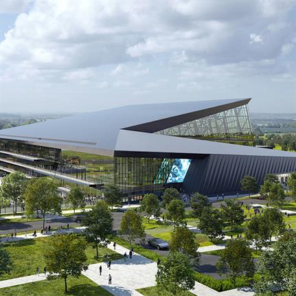 2021 WAN Awards entry: Carolina Panthers Sports Performance and Event Center - Populous