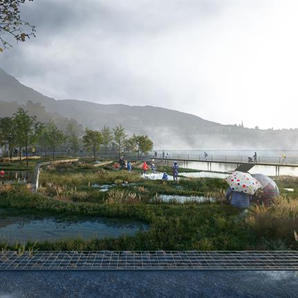 2021 WAN Awards entry: Bergen True Blue - White Arkitekter AB