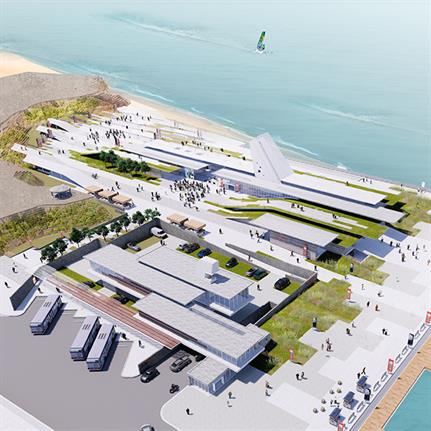 2020 WAN Awards entry: Penghu North Sea Visitor Center, Taiwan - JJP Architects and Planners