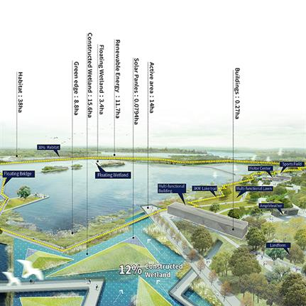 2019 WAN Awards: Nansong Lake High-Tech Ecological Park - Integrated Planning and Design Pty.Ltd.