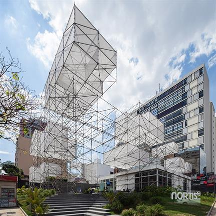 2019 WAN Awards: Nortis POD Stand - FGMF Architects