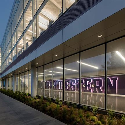 2019 WAN Awards: Northwestern University Ryan/Walter Athletics Center - Perkins and Will