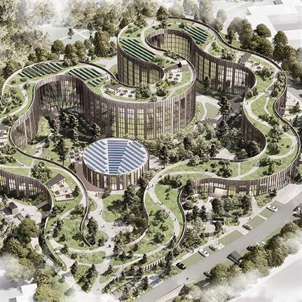 2020 WAN Awards entry: BaseCamp Lyngby - Lars Gitz Architects
