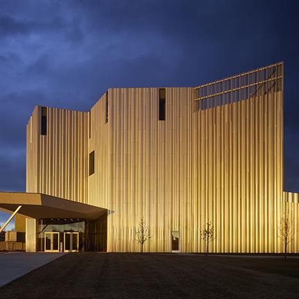 2021 WAN Awards entry: Oklahoma Contemporary Arts Center - Rand Elliott Architects