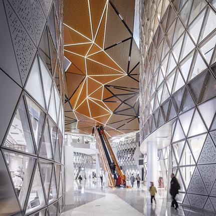 2021 WIN Awards entry: Wuhan Greenland 606 Centre - Woods Bagot