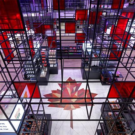 2021 WIN Awards entry: CN Tower Gift Shop - II BY IV DESIGN