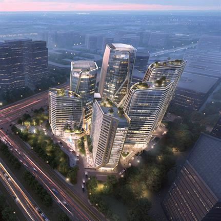 2021 WAN Awards entry: Kinghood Group Financial Center (KGFC) - JATO Design International Limited