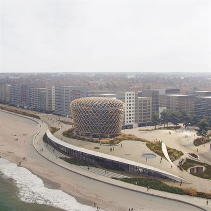 2021 WAN Awards entry: Venue Building Middelkerke, Belgium - ZJA, DELVA, OZ and Bureau Bouwtechniek