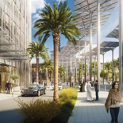 2019 WAN Awards: Expo 2020 Dubai Legacy District - Adrian Smith + Gordon Gill Architecture