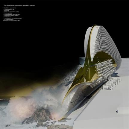 2020 WAN Awards entry: Hydroelectric Sculpture Gallery - Margot Krasojević Architecture