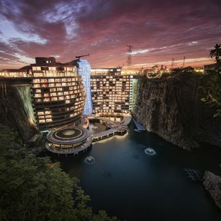 Stunning new quarry hotel opens