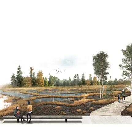 2021 WAN Awards entry: Tharkanovo Eco-Park : A Journey through the Russian Nature - Juul | Frost Architects