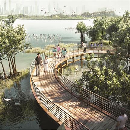 2020 WAN Awards entry: Development of Ras Al Khor Wildlife Sanctuary - Dubai Municipality