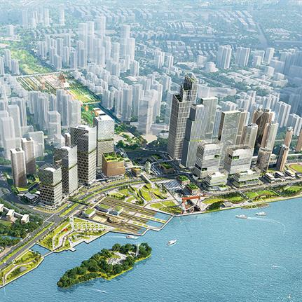 2020 WAN Awards entry: Guangzhou Shipyard Master Plan - SPARK Architects