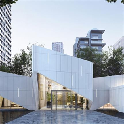 2021 WAN Awards entry: China Overseas One Sino Residence, Beijing - HZS Design (Shanghai) Co., Ltd.