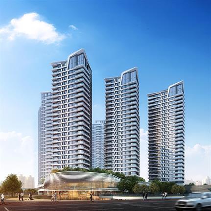 2021 WAN Awards entry: Longfor & BCDH: The Skyline, Guangzhou - HZS Design (Shanghai) Co., Ltd.