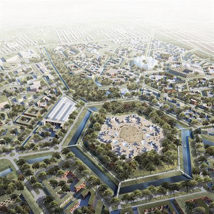 2019 WAN Awards:  Strategy masterplan of urban transition of Turkistan City - FrameArt + Urban Sustain Architecture