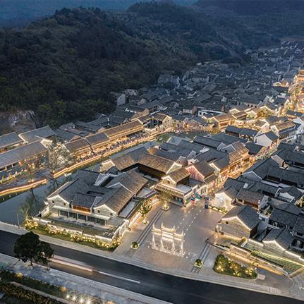 2020 WAN Awards entry: Renovation of Ancient Village – Han Ling - DC Alliance