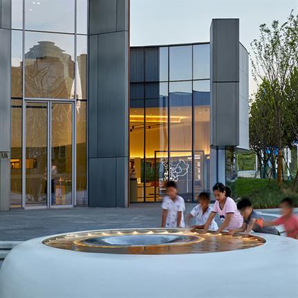 2019 WAN Awards Entry: HeFei Fei River Central Smart Garden Library - GEEDESIGN
